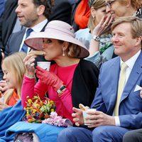 La Familia Real de Holanda desayunando en el Día del Rey 2016