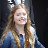 La Princesa Alexia sonriente en el Día del Rey 2016