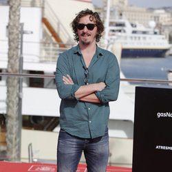 Iván Massagué  en la presentación de 'Cerca de tu mano' en el Festival de Málaga 2016