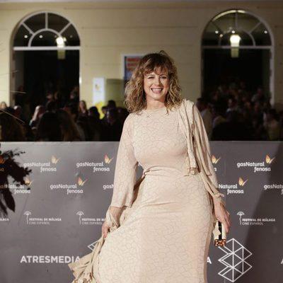 Emma Suárez en la premiere de 'La próxima piel' en el Festival de Málaga 2016