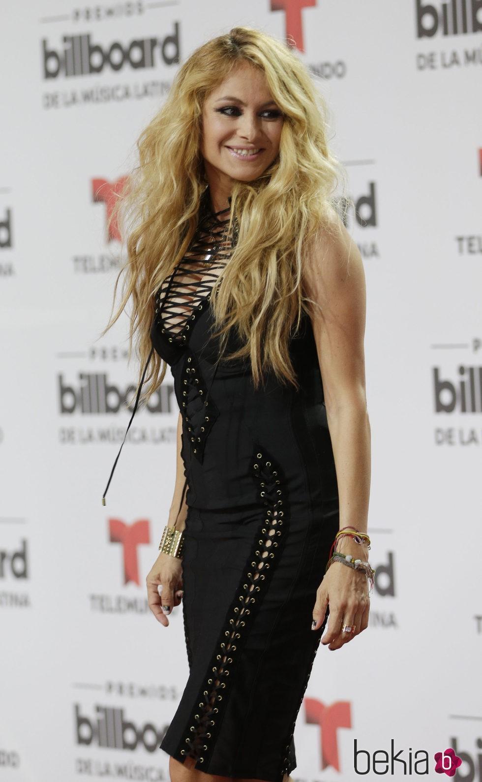 Paulina Rubio en los Billboard Latin Awards 2016