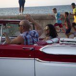 Vin Diesel y Michelle Rodriguez  se divierten en el rodaje de 'Fast & Furious 8' en Cuba