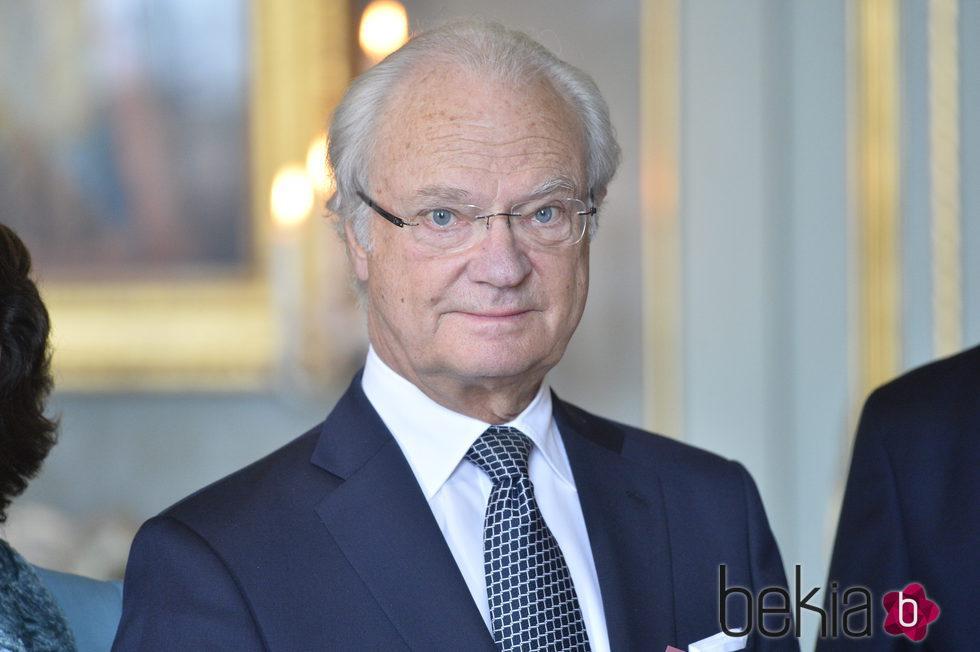 El Rey Carlos XVI Gustavo de Suecia en su 70 cumpleaños