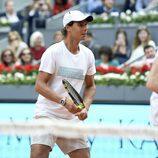 Rafa Nadal en el partido benéfico en la Mutua Madrid Open de Tenis