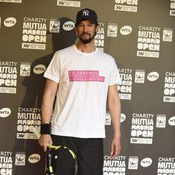 Stany Coppet en la jornada benéfica previa al Mutua Madrid Open de Tenis