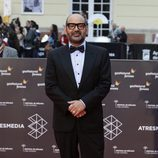 José Corbacho en la alfombra roja del Festival de Málaga de 2016