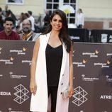 Elena Furiase en la alfombra roja del Festival de Málaga de 2016