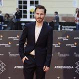 Rubén Ochandiano en la alfombra roja del Festival de Málaga de 2016