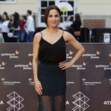Toni Acosta en la alfombra roja del Festival de Málaga de 2016
