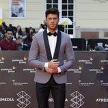 José Lamuño en la alfombra roja del Festival de Málaga de 2016