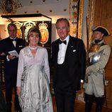 Denise y Stefan Persson en la cena de gala en el 70 cumpleaños del Rey Gustavo de Suecia