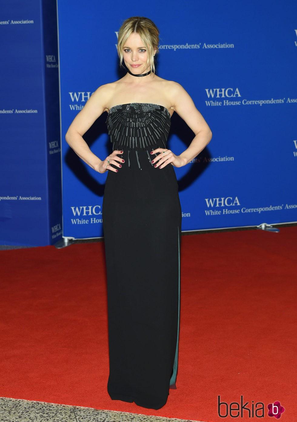 Rachel McAdams en la Fiesta de Corresponsales 2016 en la Casa Blanca