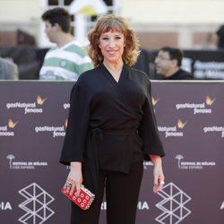 Nathalie Seseña en la clausura del Festival de Málaga 2016