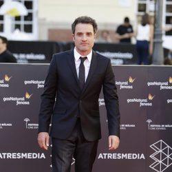 Daniel Guzmán en la clausura del Festival de Málaga 2016