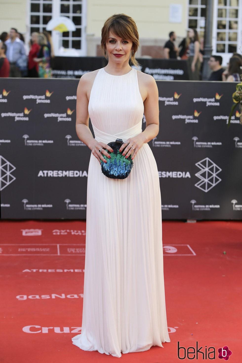 María Adánez en la clausura del Festival de Málaga 2016