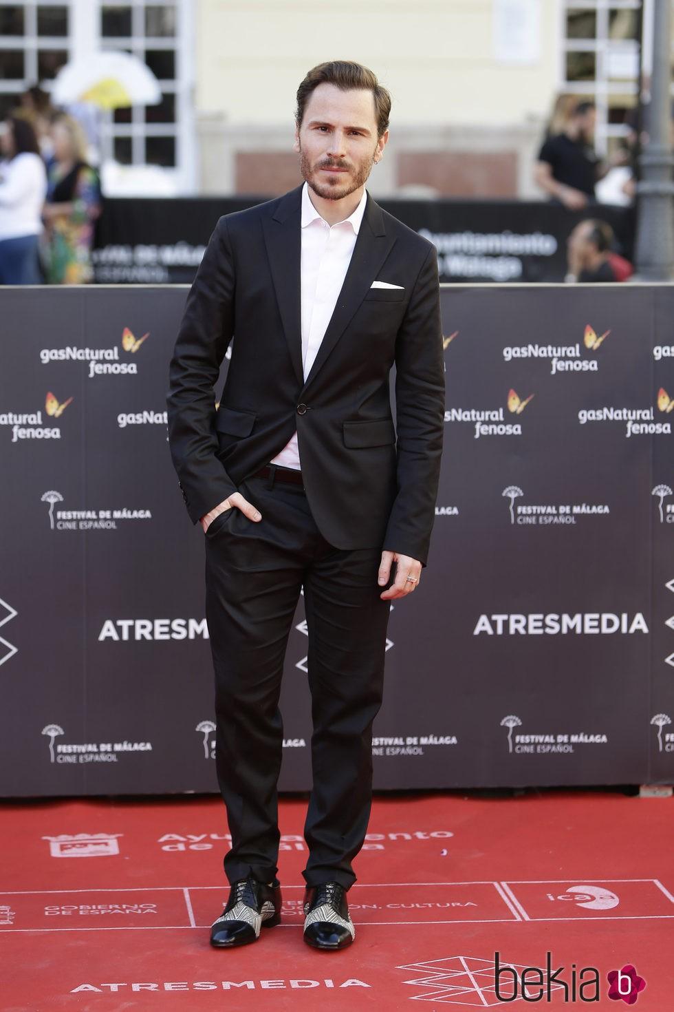 Rubén Ochandiano en la clausura del Festival de Málaga 2016