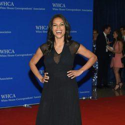 Rosario Dawson en la Fiesta de Corresponsales 2016 en la Casa Blanca