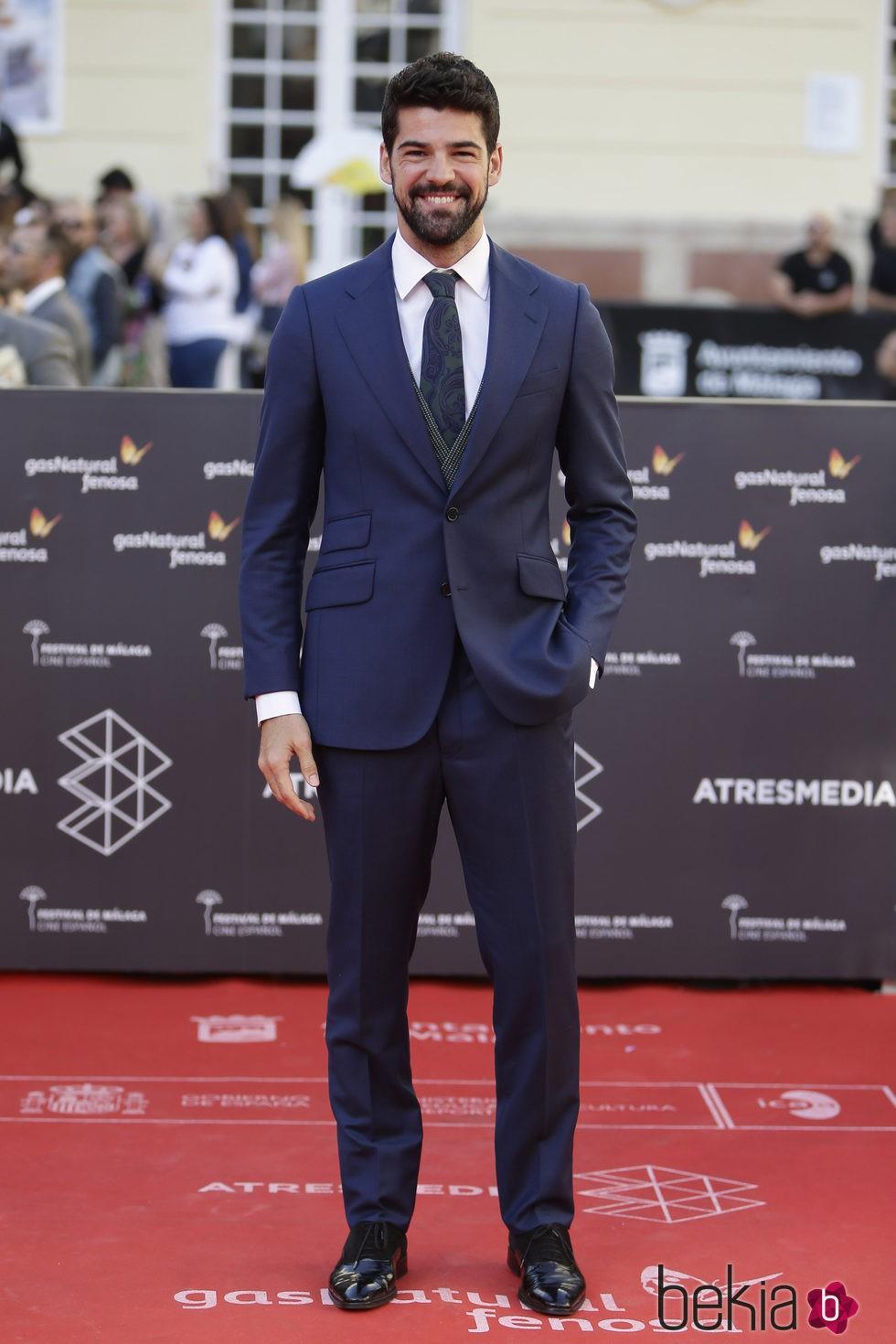 Miguel Ángel Muñoz en la clausura del Festival de Málaga 2016