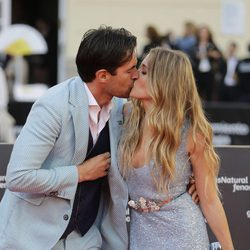 Patricia Montero se besa con Álex Adrover en la clausura del Festival de Málaga 2016