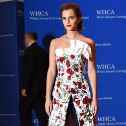 Emma Watson en la Fiesta de Corresponsales 2016 en la Casa Blanca