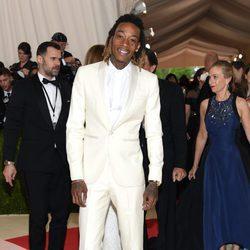 Wiz Khalifa en la Gala Met 2016