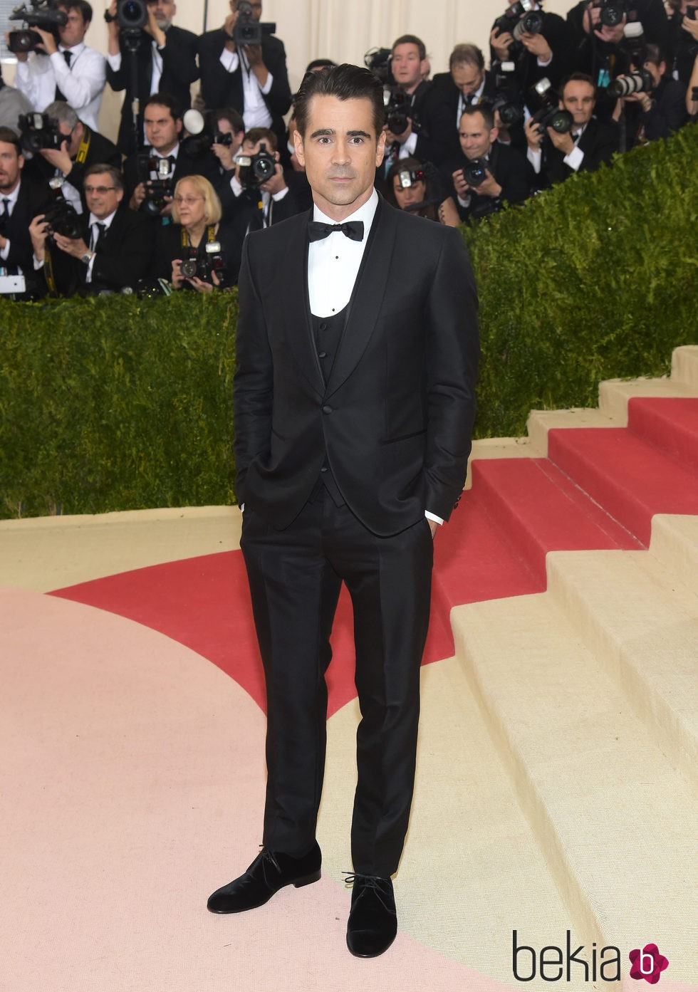 Colin Farrell en  la Gala Met 2016