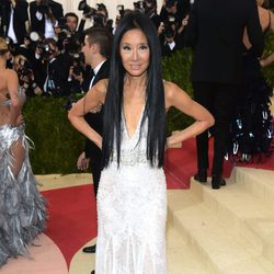 Vera Wang en  la Gala Met 2016