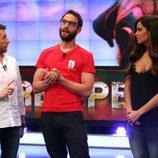 Pablo Motos, Dani Rovira y Cristina Pedroche en 'El Hormiguero'