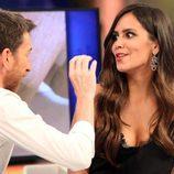 Cristina Pedroche y Pablo Motos en 'El Hormiguero'