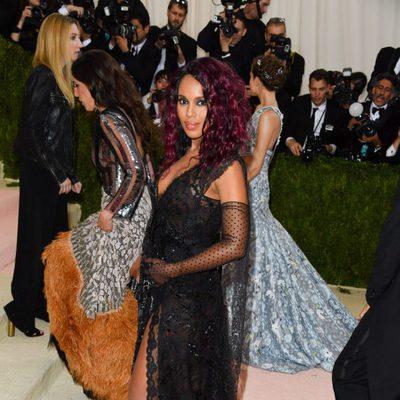 Kerry Washington confirma su segundo embarazo en la Gala del MET 2016