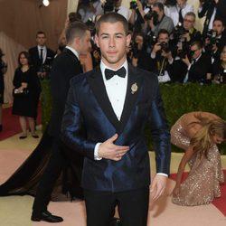 Nick Jonas en la Gala Met 2016
