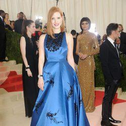 Jessica Chastain en  la Gala Met 2016