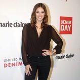 Helen Lindes en la celebración del 'Denim day' de Guess en Barcelona