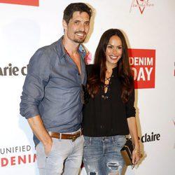 Mireia Canalda y Felipe López en la celebración del 'Denim day' de Guess en Barcelona