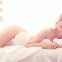 Marta Torné posa desnuda a lo Marilyn Monroe para MADMENMAG
