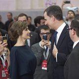 Los Reyes Felipe y Letizia se dedican tiernas miradas en los Premios Ortega y Gasset 2016