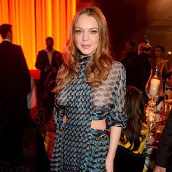 Lindsay Lohan en los Asian Awards 2016