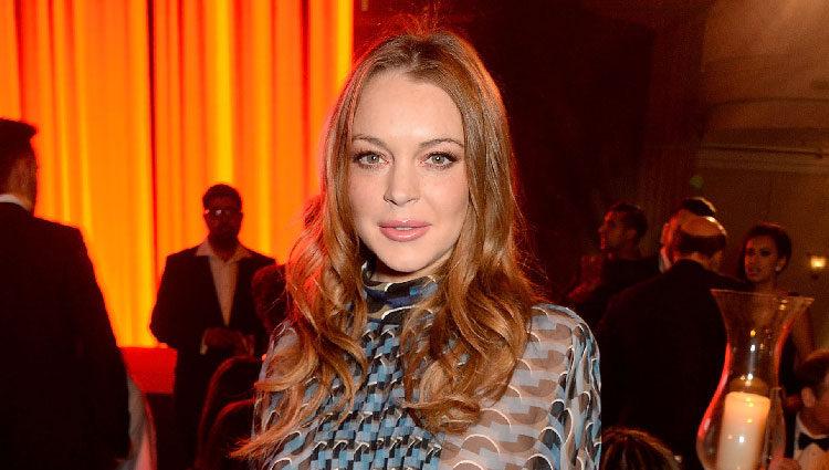 Lindsay Lohan en los Asian Awards 2016