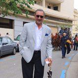 Carlos Herrera en la Feria del Caballo de Jerez de la Frontera