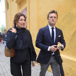 Raquel Revuelta y Raul Gracia en la Feria del Caballo de Jerez de la Frontera