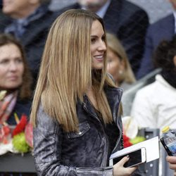 Edurne en la final del torneo de tenis Madrid Open 2016