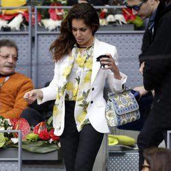 Hiba Abouk en la final del torneo de tenis Madrid Open 2016