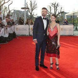 Justin Timberlake y Anna Kendrick en los Premios BAFTA TV 2016