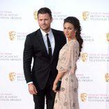 Mark Wright y Michelle Keegan en los Premios BAFTA TV 2016