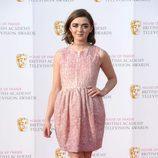 Maisie Williams en los Premios BAFTA TV 2016