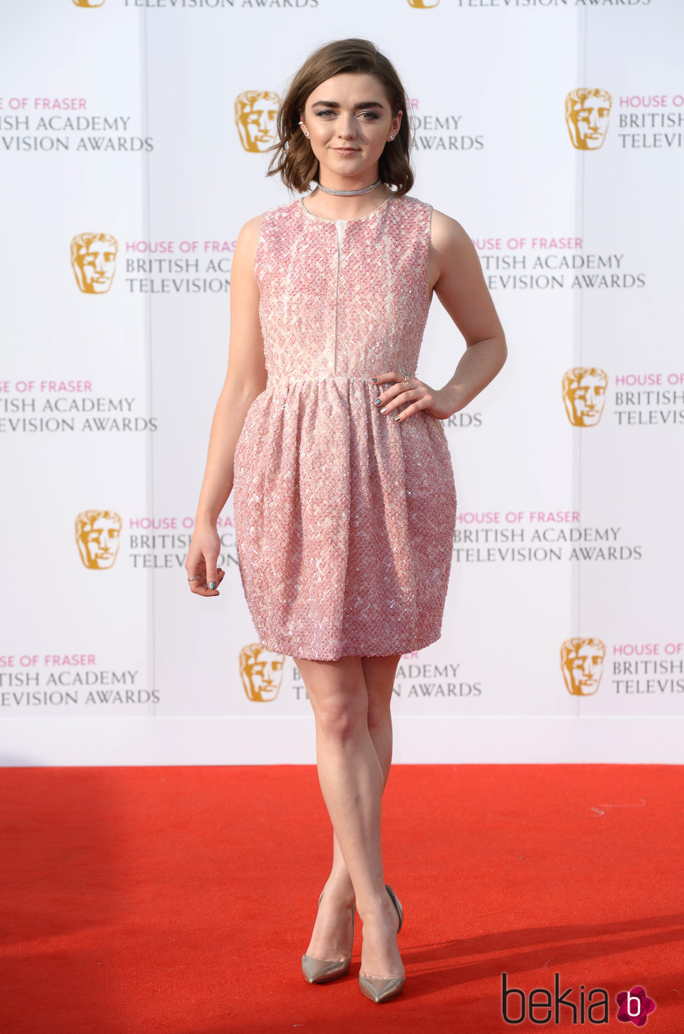 Maisie Williams en los Premios BAFTA TV 2016