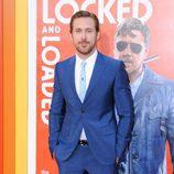 Ryan Gosling posando en el photocall del estreno de 'Dos buenos tipos'