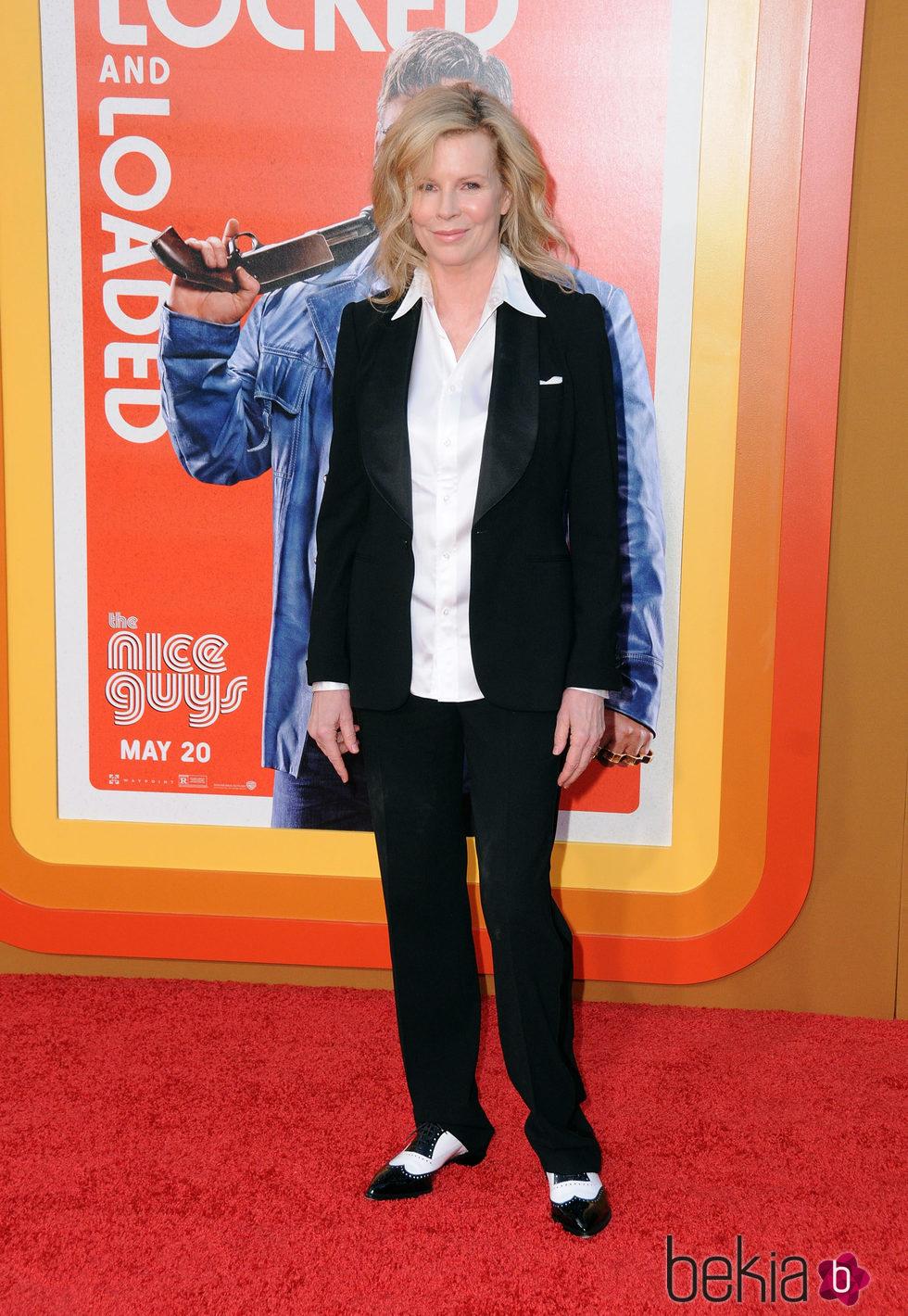 Kim Basinger en el estreno de 'Dos buenos tipos'