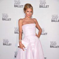 Paris Hilton en la gala de primavera del Ballet de Nueva York
