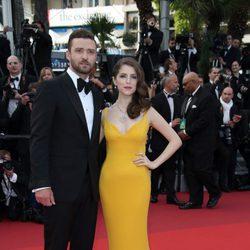 Justin Timberlake y Anna Kendrick en la apertura del Festival de Cannes 2016